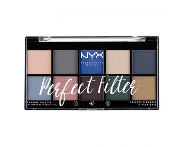 NYX PROF. MAKEUP Perfect Filter Shadow Palette Marine Layer