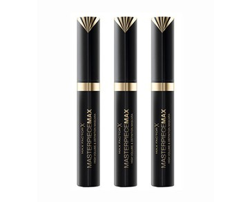 3-pack Max Factor Masterpiece Max Mascara Black 7,2ml