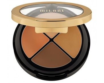 Milani Conceal + Perfect All In One Concealer Kit - 04 Dark to Deep