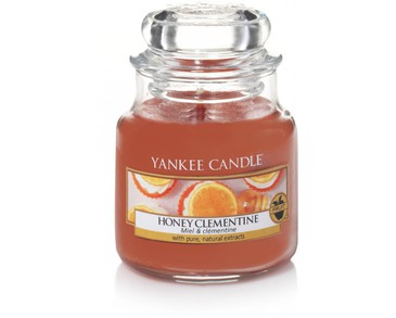 Yankee Candle Classic Small Jar Honey Clementine Candle 104g