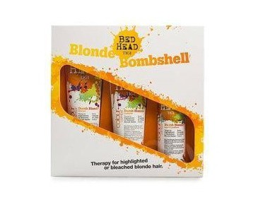 Giftset Tigi Bed Head Combat Colour Blonde Bombshell