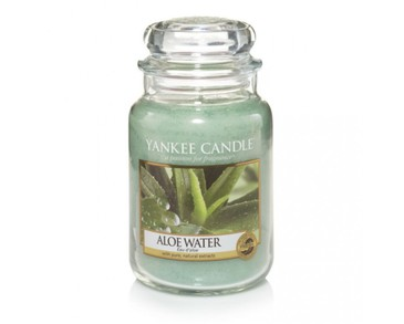 Yankee Candle Classic Large Jar Aloe Water Candle 623g