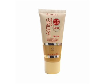 Rimmel Lasting Finish 25h Nude Foundation 100 Ivory 30ml