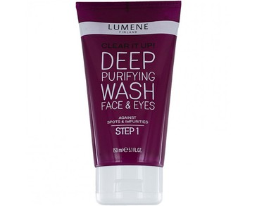 Lumene Clear It Up! Deep Purifying Wash Face & Eyes 150ml