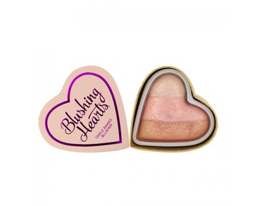Makeup Revolution Blushing Hearts - Iced Hearts Blusher