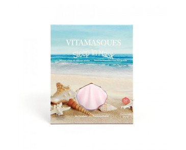 Vitamasques Sleep In 3d Masks - Pearl ( 2 pods) + Brightening