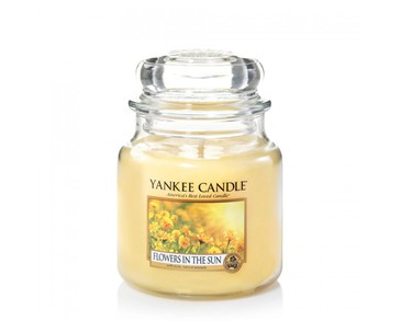 Yankee Candle Classic Medium Jar Flowers In The Sun Candle 411g