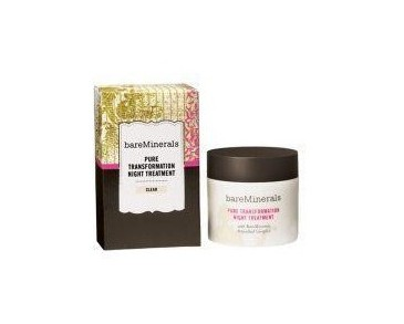 Bare Minerals Pure Transformation Night Treatment Clear 4,2g