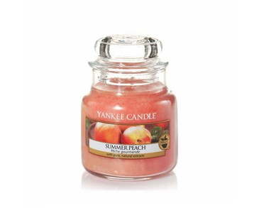 Yankee Candle Classic Small Jar Summer Peach Candle 104g