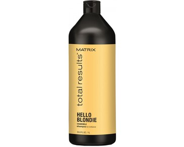 Matrix  Total Results Hello Blondie Shampoo 1000 ml