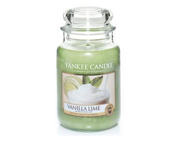 Yankee Candle Classic Large Jar Vanilla Lime Candle 623g