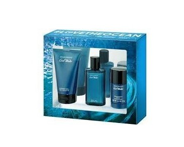 Giftset Davidoff Cool Water Man Edt 75ml + Deostick 75ml + Shower Gel 150ml