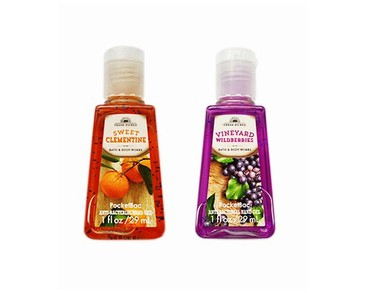 2-pack Bath & Body Works PocketBac Vineyard Wildberries + Sweet Clementine
